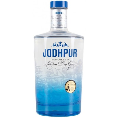 Jodhpur London Dry Gin 43% Alc 0.7l