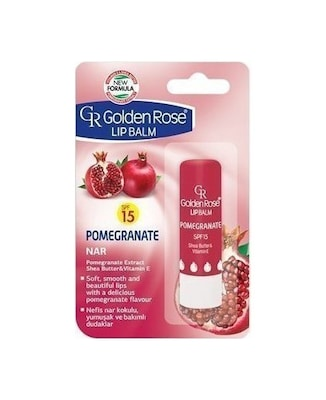 Golden Rose Lip Balm Pomegranate Spf15