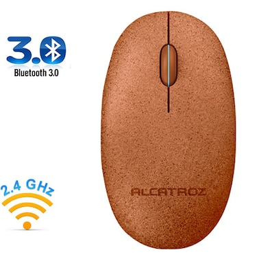 Alcatroz Bluetooth 3.0/wireless 2.4g Mouse Pebble Air Volcanic Pav