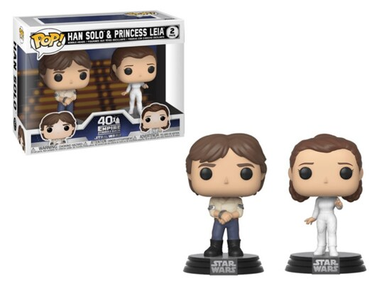 Φιγούρα Funko Pop! Movies - Star Wars - Empire Strikes Back Han and Leia