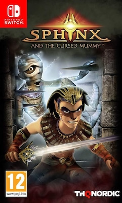 Sphinx and the Cursed Mummy - Nintendo Switch Game
