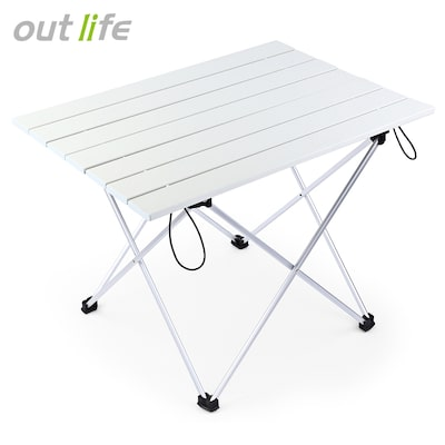 Outlife Camping Picnic Aluminum Alloy Folding Table