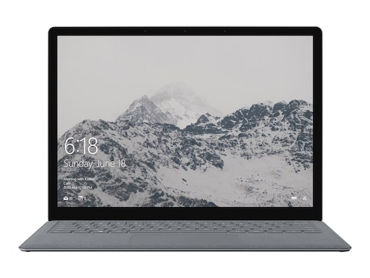 Microsoft Surface Laptop, I7-7660u/13.5-inch Touch/16gb/1tb Ssd/webcam/win10 Pro, Platinum