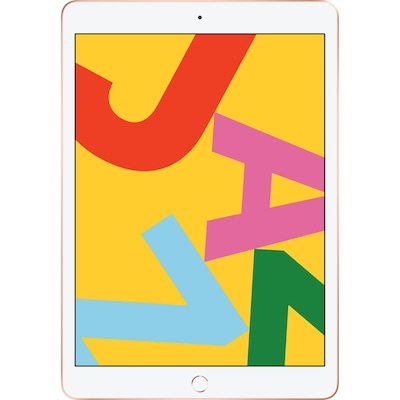 Apple Ipad 7th Gen, A10 Fusion/10.2-inch/128gb Flash/webcam/ios, Gold (2019)