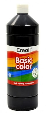 Τέμπερα Μάυρο Creall Basic Color 1000 Ml 20 Black