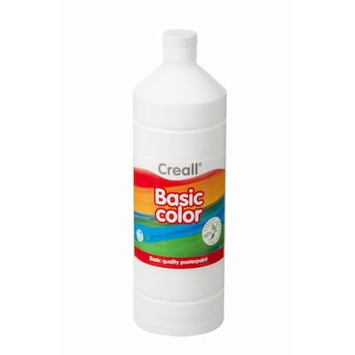 Τέμπερα Λευκό Creall Basic Color 1000 Ml 21 White