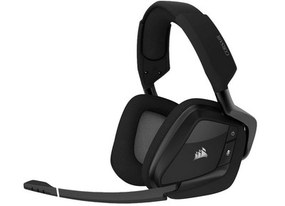 Corsair Void RGB Elite 7.1 Surround - Wireless Gaming Headset Carbon