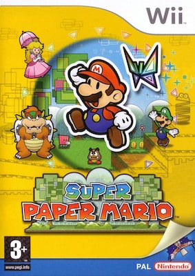 Super Paper Mario Wii  (nintendo Selects)