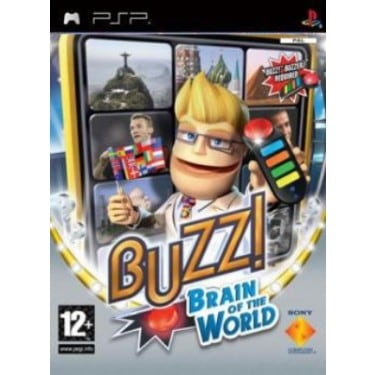 Buzz Brain Of The World Psp