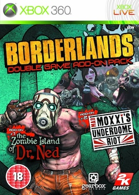 Borderlands: Double Game Add-on Pack X360