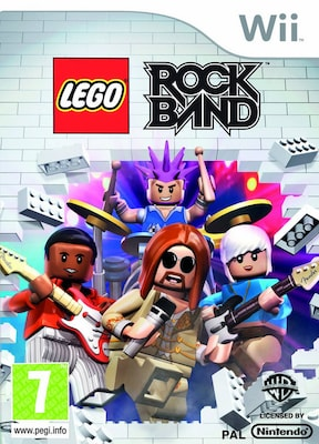 Lego Rock Band Wii