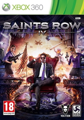 Saints Row Iv (commander In Chief Ed.) X360