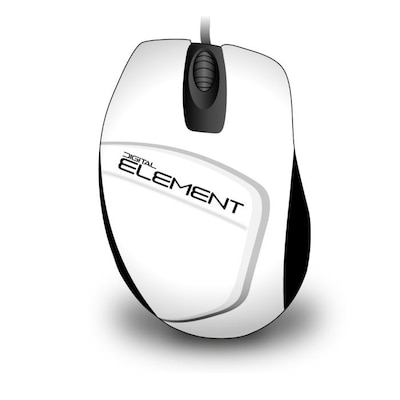 Element Wired Mouse Ms-30w (white)