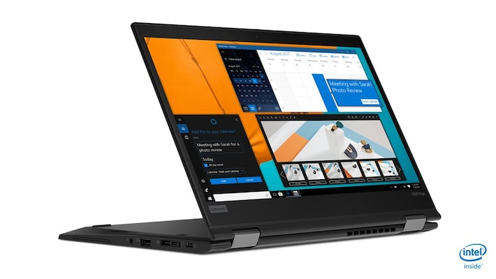 Lenovo Thinkpad Yoga X390 2in1, I5-8265u/13.3 Fhd Touch/8gb/256gb Ssd/webcam/4g/win10 Pro, Black