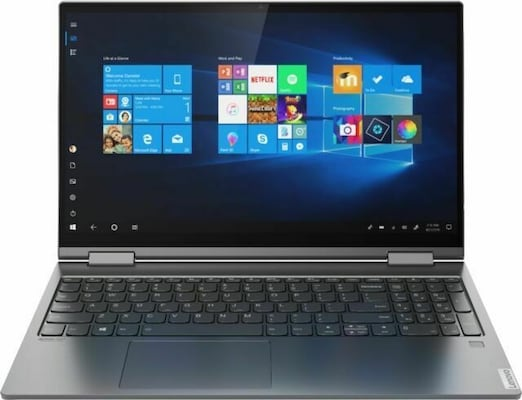 Lenovo Yoga C740-15iml 2in1, I7-10510u/15.6 Fhd Ips Touch/12gb/512gb Ssd+32gb Optane/webcam/win10 Ho