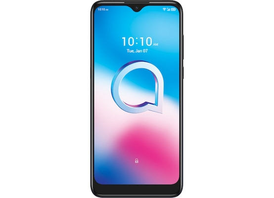 Alcatel 3L (2020) 64GB 4G Dual Sim Smartphone - Dark Chrome
