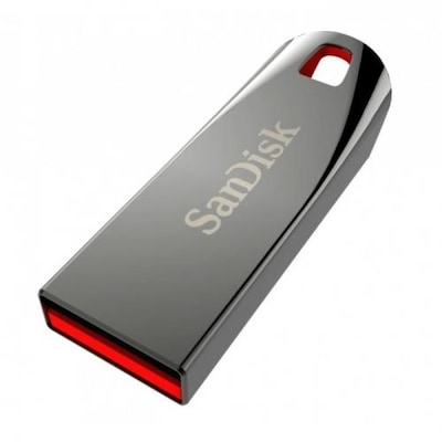 USB Stick SanDisk Force 64GB 2.0 Μαύρο