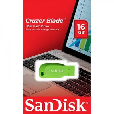 SanDisk USB Flash - 16 GB USB 2.0 - Πράσινο