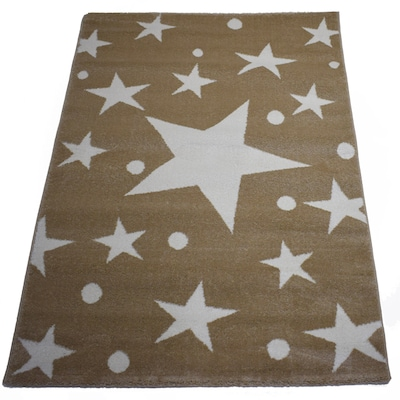 Χαλί 133x190 Breeze Stars Cream Beige