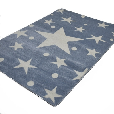 Χαλί 133x190 Breeze Stars Cream Blue