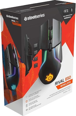 SteelSeries Rival 650 Gaming Mouse Μαύρο