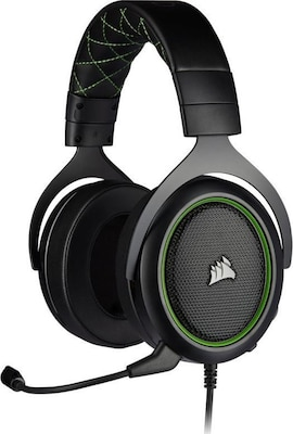 Corsair HS50 Pro Stereo - Wired Gaming Headset  Πράσινο