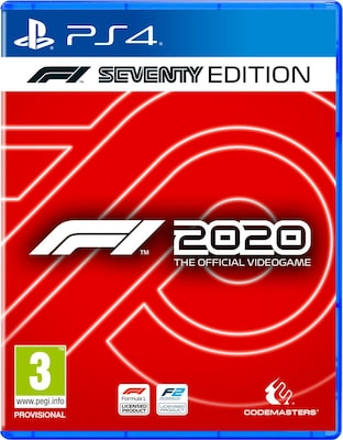 F1 2020 Seventy Steelbook Edition - PS4 Game