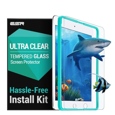 Esr Premium Quality Tempered Glass Ipad Pro 9,7 (with Easy Installation Frame)