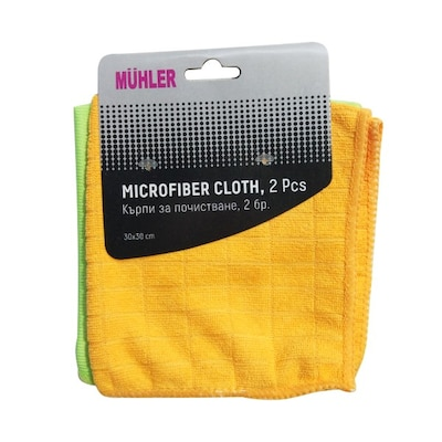 Microfiber Cloth Mr-2126, 2 Pcs.