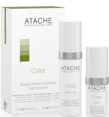Atache C Vital Set Active Serum + Fluid