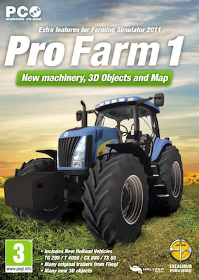 Pro Farm 1 Farming Simulator 2011 Expansion Pack (pc)