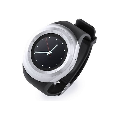 "Smartwatch 1,22"" Lcd Usb Bluetooth 145788 Μαύρο"
