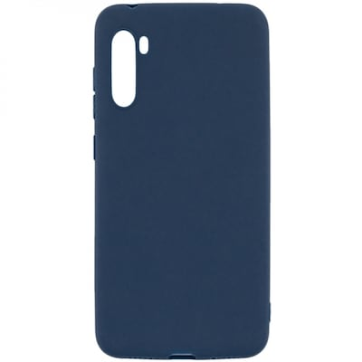 Senso Soft Touch Xiaomi Redmi Note 8 Blue Backcover
