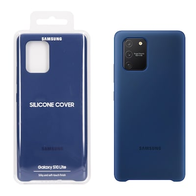 Samsung Galaxy S10 Lite Silicon Back Cover - Μπλε