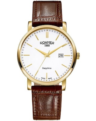 Roamer Classic Brown Leather Strap