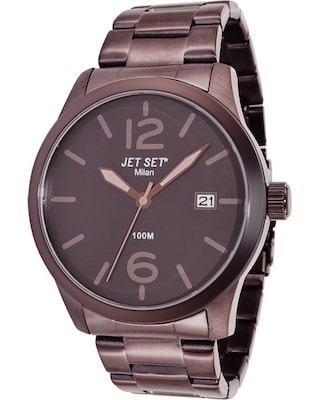 Ρολόι Jet Set Milan Brown Stainless Steel Bracelet
