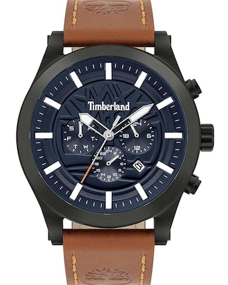 Timberland Hardwick Brown Leather Strap