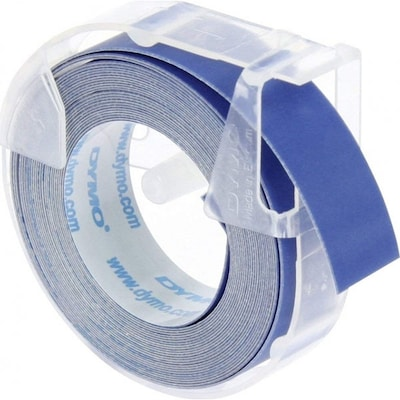 Dymo 3d Label Tape 9 Mm X 3 M Plastic Glossy Blue