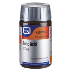 Quest Folic Acid 400mg 90 Ταμπλέτες