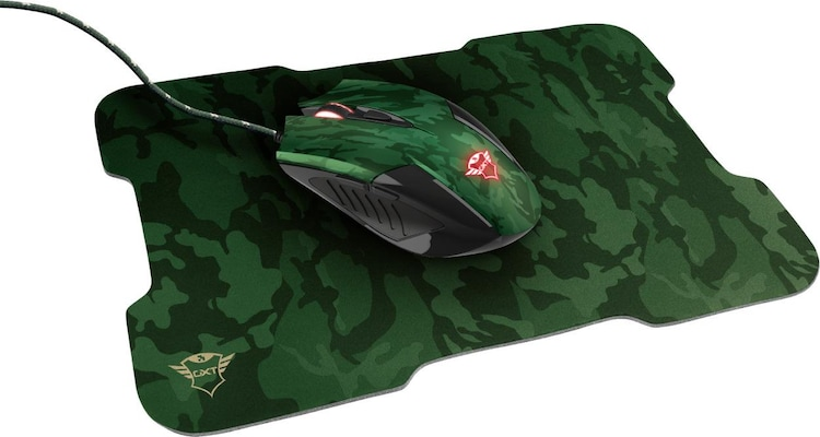 Gaming Ποντίκι TRUST GXT781 Rixa Camo with mouse pad