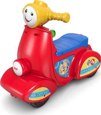 Εκπαιδευτικό Scooter Fisher Price Laugh & Learn Smart Stages
