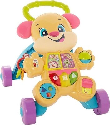 Fisher Price Εκπαιδευτικη Στρατα Σκυλακι Smart Stages Ροζ Ftc68