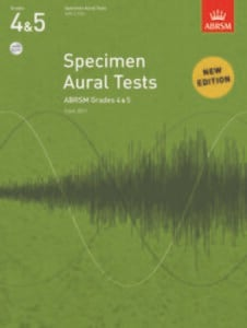 Specimen Aural Tests, Grades 4 & 5, with 2 CDs