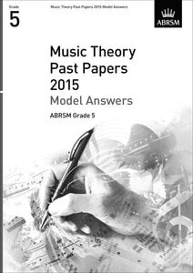 MUSIC THEORY PAST PAPERS 2015 MODEL ANSW
