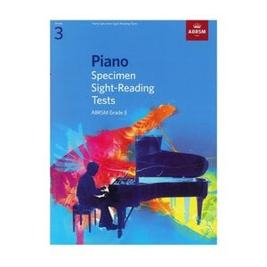 PIANO SPECIMEN SIGHT-READING TESTS, GRAD