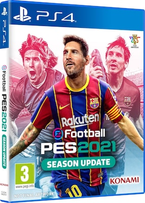 eFootball Pro Evolution Soccer 2021 - PS4 Game