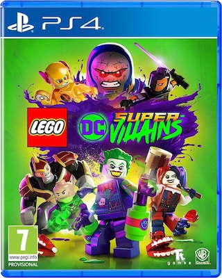 LEGO DC Super-Villains - PS4 Game