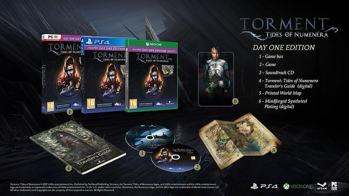 Torment: Tides of Numenera Day One Edition - Xbox One Game