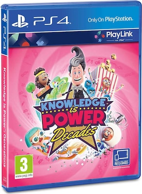 Knowledge is Power Decades - PS4 Game