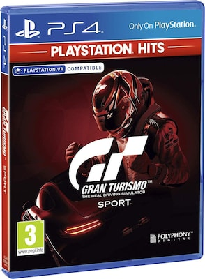 Gran Turismo Sport Playstation Hits - PS4 Game